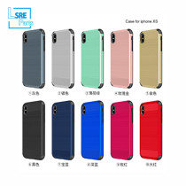 CASE FOR IPHONE SAMSUNG XR MAX S9 drawbench armor(PC+TPU+Ring+vehicle-mounted) 50pcs