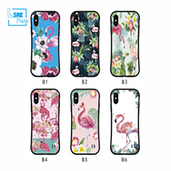 CASE FOR IPHONE SAMSUNG XR MAX S9 NEW slim waist(Bright UV piano paint) 50pcs
