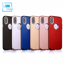 CASE FOR IPHONE SAMSUNG XR MAX S9 metallic bond(TPU+Electroplating buttons+Leather oil) 50pcs