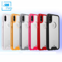 CASE FOR IPHONE SAMSUNG XR MAX S9 Crystal clear Alec(TPU+Alec) 50pcs
