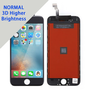 Replacement for iPhone 6G LCD screen Without Polarizer,3D View,Brightness more than 480 degree 10pcs