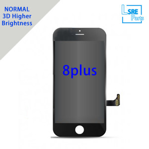 Replacement for iPhone 8 Plus LCD screen Without Polarizer,3D View,Brightness more than 480 degree 10pcs