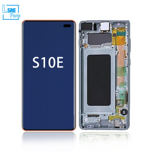 Replacement for Samsung S10E LCD OLED Display screen with frame 5pcs
