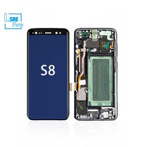 Replacement for Samsung S8 LCD OLED Display screen without frame 5pcs