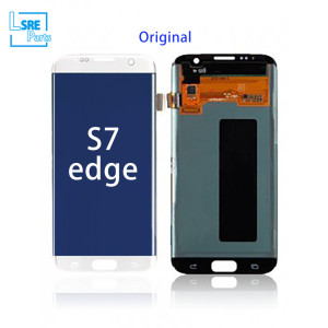 Replacement for Samsung S7 edge LCD original Display screen with frame 5pcs