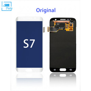 Replacement for Samsung S7 LCD original Display screen without frame 5pcs