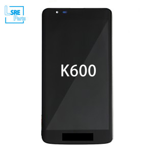 Replacement for LG K600 Original LCD Display screen with glass changed  10pcs