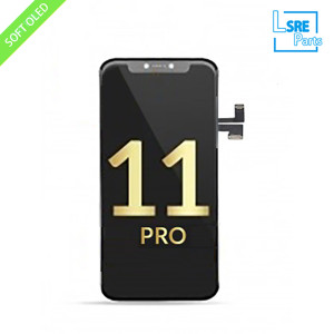 Replacement for iPhone 11 pro LCD OLED SOFT GLASS PANEL 10pcs