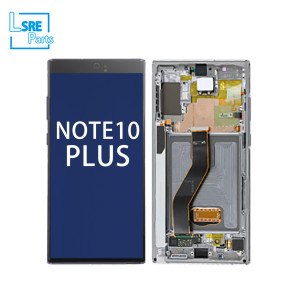 Replacement for Samsung note10 plus LCD original Display screen with frame 5pcs