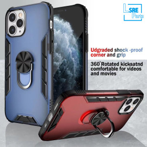 Shockproof case for Kickstand iphone 12 serials Samsung Lg case