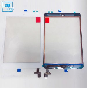Touch panel digitizer with IC home button assembly for iPad mini1/2 10pcs