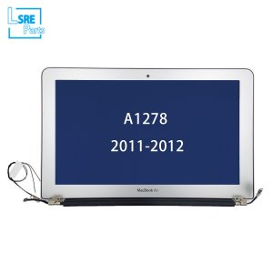 Macbook Unibody 13 inch lcd with front cover assembly for A1278 2011-2012 3pcs