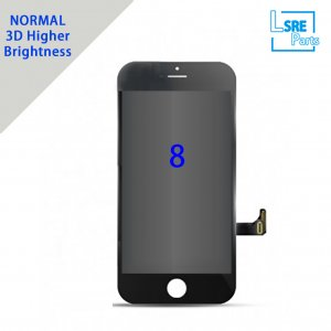Replacement for iPhone 8G LCD screen Without Polarizer,3D View,Brightness more than 480 degree 10pcs