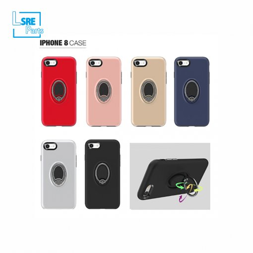 CASE FOR IPHONE SAMSUNG XR MAX S9 Golf ring(PC+TPU+Ring+vehicle-mounted 50pcs