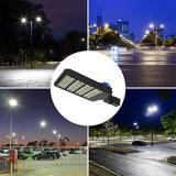 300 Watt Led Parking Lot Light, 3-Type Mountings Led Street Area Light with Photocell Sensor &Shorting Circuit Cap