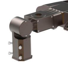 Slip Fitter Mounting Bracket Multi-Function for Adiding Parking Lot Light Area Light Shoebox Pole Light Fixture