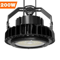 Adiding LED High Bay Lights,200 Watt,Black,800W Metal Halide Equal,5000 Kelvin