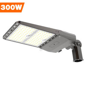 Parking Lot Lights, LED Area Light 300 Watt,	42000 Lumens,1200W Metal Halide Equal,Slipfitter Mount Brackets,Wholesaling And Retailing