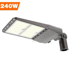 Parking Lot Lights, 240 Watt, 33600 Lumens,960W Metal Halide Equal,Slipfitter Mount Brackets,Wholesaling And Retailing