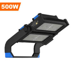 Stadium Lights,500 Watts,65000 Lumens,Unique design,LED Flood Sport Court Gym Lighting,30° Beam Angle 5000K Daylight White,Wholesaling And Retailing