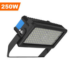 Stadium Lights,250 Watts,32500 Lumens,Unique design,LED Flood Sport Court Gym Lighting,30° Beam Angle 5000K Daylight White,Wholesaling And Retailing