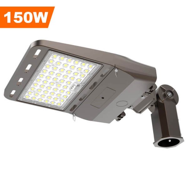 Parking Lot Lights,150 Watt,21000 Lumens,with SF Multi-Functional Mounting,Wholesaling And Retailing