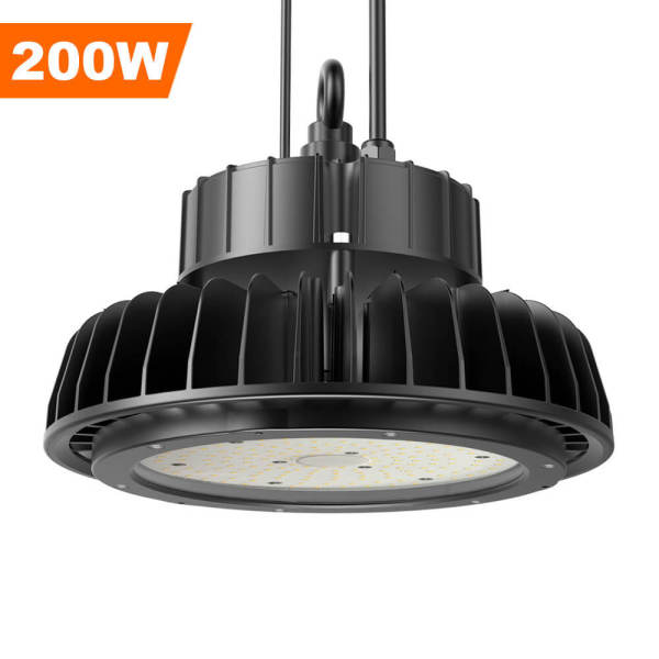 Adiding LED High Bay Lights,200 Watt,Black,26,000 Lumens,5000 Kelvin