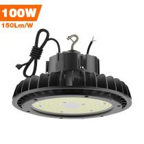 Adiding LED High Bay Lights,100 Watt,Black,with 6.56' Power Cord,400 Watt Metal Halide Equal