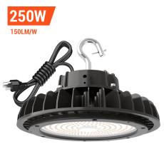 Adiding LED High Bay Lights,250Watt,with 6.56' Power Cord,1000 Watt Metal Halide Equal