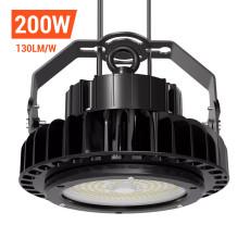 Adiding LED High Bay Lights,200 Watt,Black,800W Metal Halide Equal,5000 Kelvin