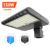 Parking Lot Light,  Area / Shoebox / Street / Pole Light 150 Watt,19,500 Lumens,600W Metal Halide Equal,Photocell Sensor,Slip-Fitter Mountings,5700K Daylight, Wholesaling And Retailing