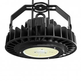 UFO LED High Bay Light, 200W Hi-Bay Lighting for Garage Warehouse Workshop Black