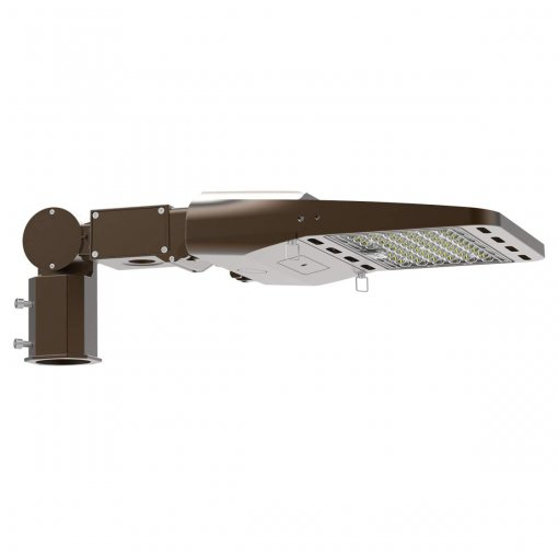 Parking Lot Light led, Street Area Lighting 185W Shoebox Pole Light with SF Multi-Functional Mounting