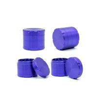 NovaBong released new multi colors 4 layer aluminum chamfering with 7 angles 2.2 inches herb grinder