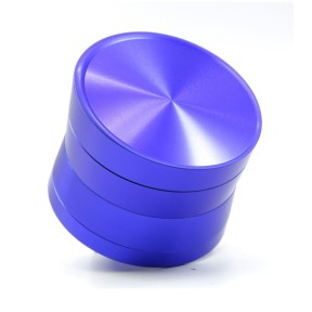 NovaBong multi colors Diameter 63mm 4 layer aluminum alloy inclined plane tobacco herb grinder