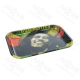 Bob Marley Painting Metal Rolling Tray | 11 inch *7 inch