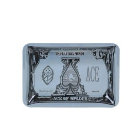 Ace of Spades Metal Rolling Tray  7 inch *5 inch