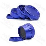 NovaBong arrived new sytle 4 layer aluminum alloy concave pits with top net design for herb grinder wholesale