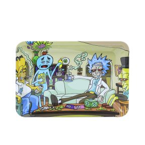 Homer & Morty Metal Rolling Tray | 7 inch *5 inch