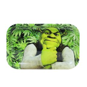 Carton Monster Shrek Metal Rolling Tray      11 inch *7 inch