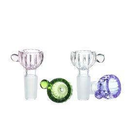 14MM Male Joint Flowerpot Glass Bowl