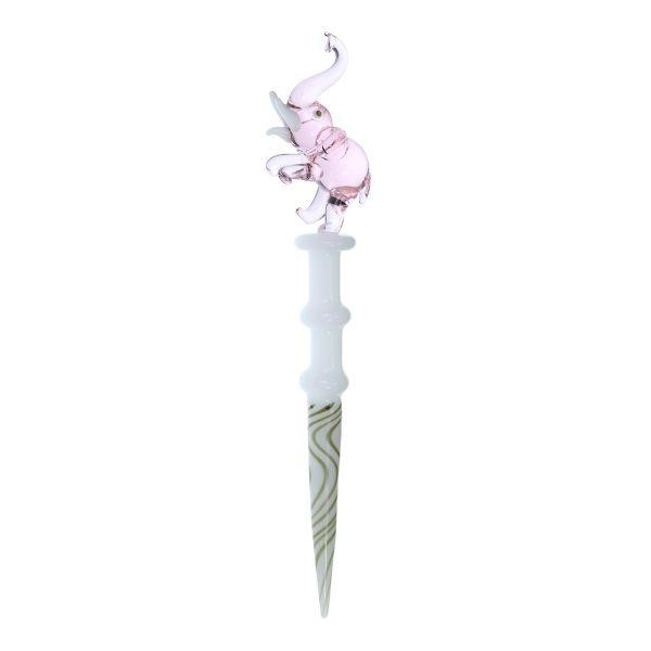 Nova Glass  Pink Elephant dab tool