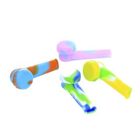 3.5 inch Silicone Hand Pipe Mix Colors