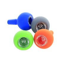 1.8 inch Colored ball Silicone Bong bowl 14mm/18mm
