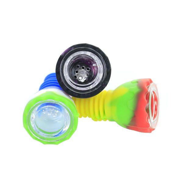 2 inch Colored Circle Silicone Bong bowl 14mm/18mm