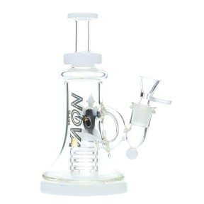 Nova Glass 8 inch Dab Rig turtle decoration