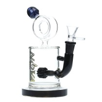 Nova Glass 9 inch gear perc Dab Rig