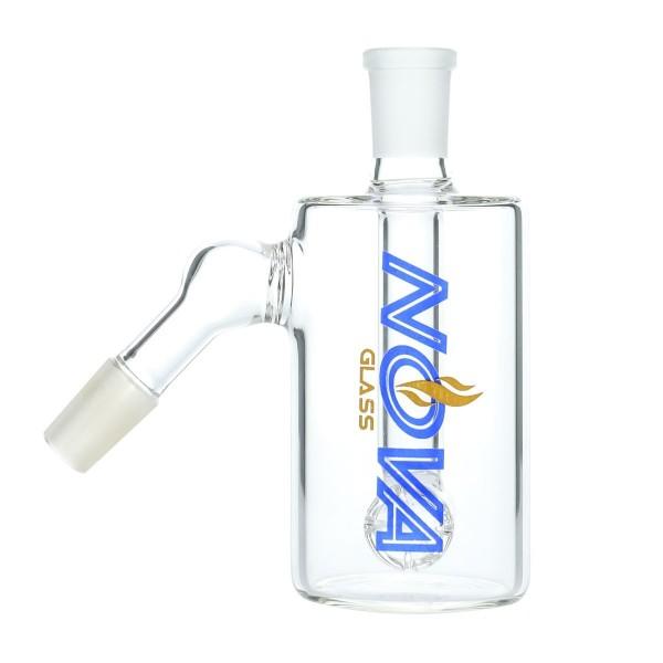 Nova Glass 14mm 45 degree Hammerhead Perc Ash Catcher