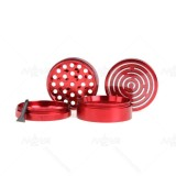NovaBong supply 4 layer aluminum alloy herb grinder with maze game multi colors