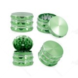 NovaBong new released 6 colors new style 4 parts aluminum alloy sharp concave polygon herb grinder crusher